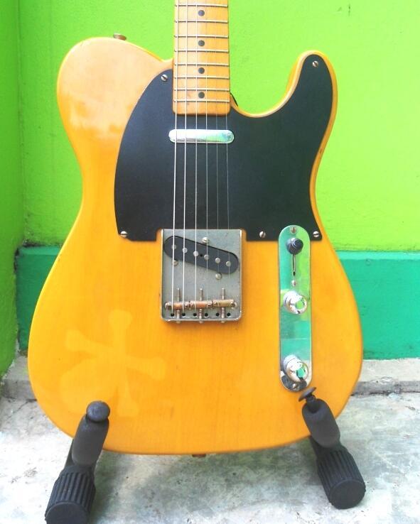 MAS PANCAL JUAL KOLEKSI FENDER LAGI, Fender Telecaster Reissue 52 Japan,I LOVE FENDER