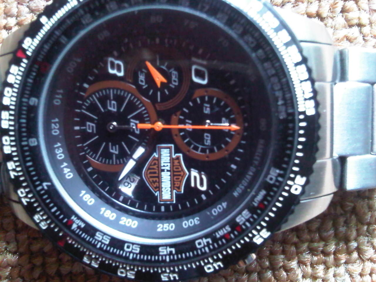 Terjual WTS jam tangan original Harley Davidson  20d8720ad9