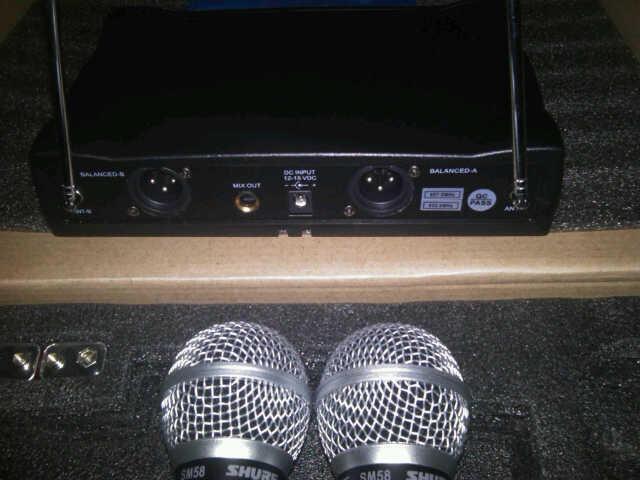 Microphone Wireless Shure UT42II / SM58