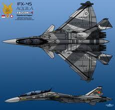 Indonesia Targetkan Produksi Pesawat Tempur IFX Tahun 2018