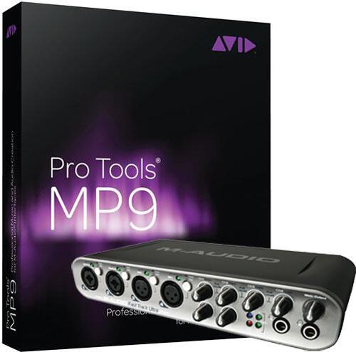 Cuci gudang : paket m-audio Fast Track ULTRA + pro tools 9 , BNIB.. hanya 5jt!
