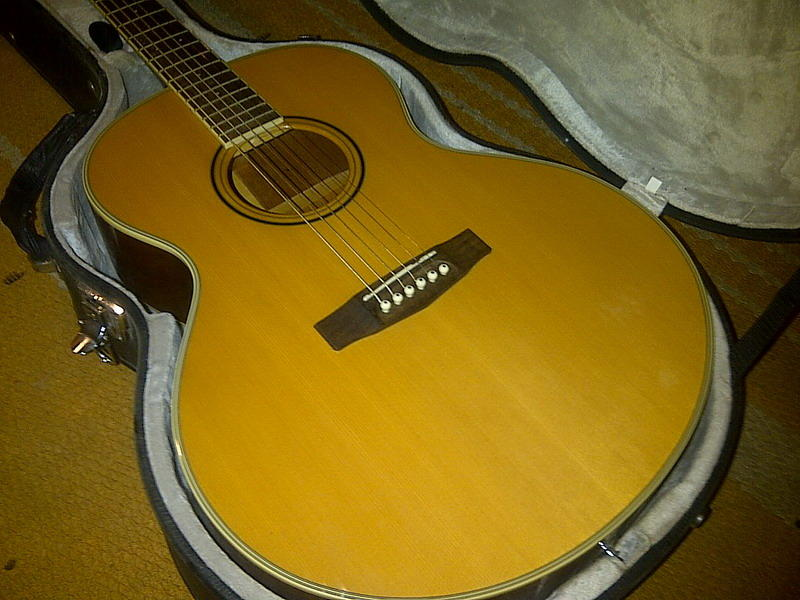 Gitar Akustik/Elektrik CORT NTL20F Hardcase Original