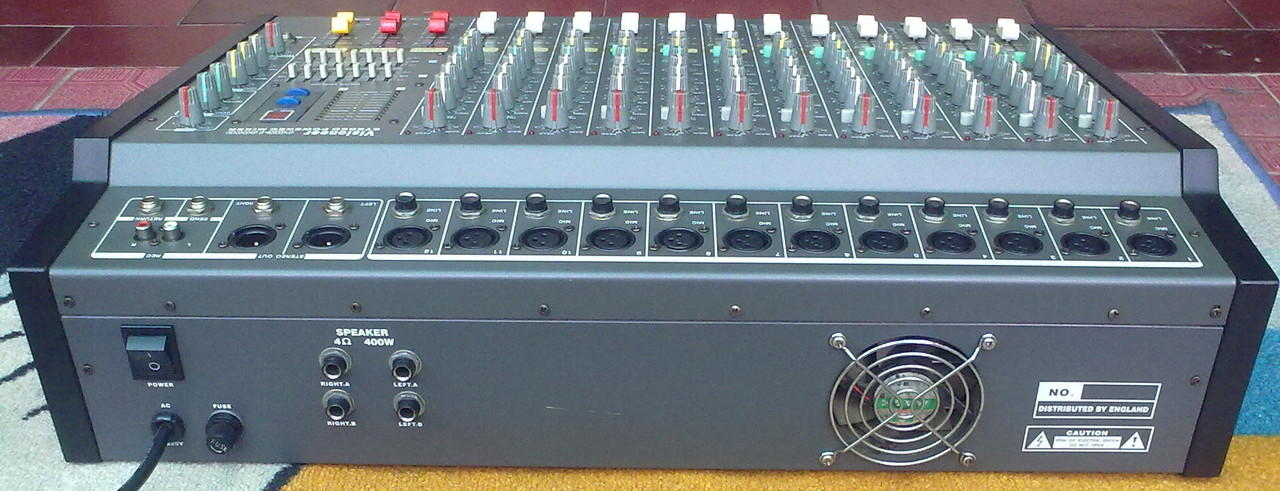 Power Mixer Visioneer 12 CH Full/Effect Vocal