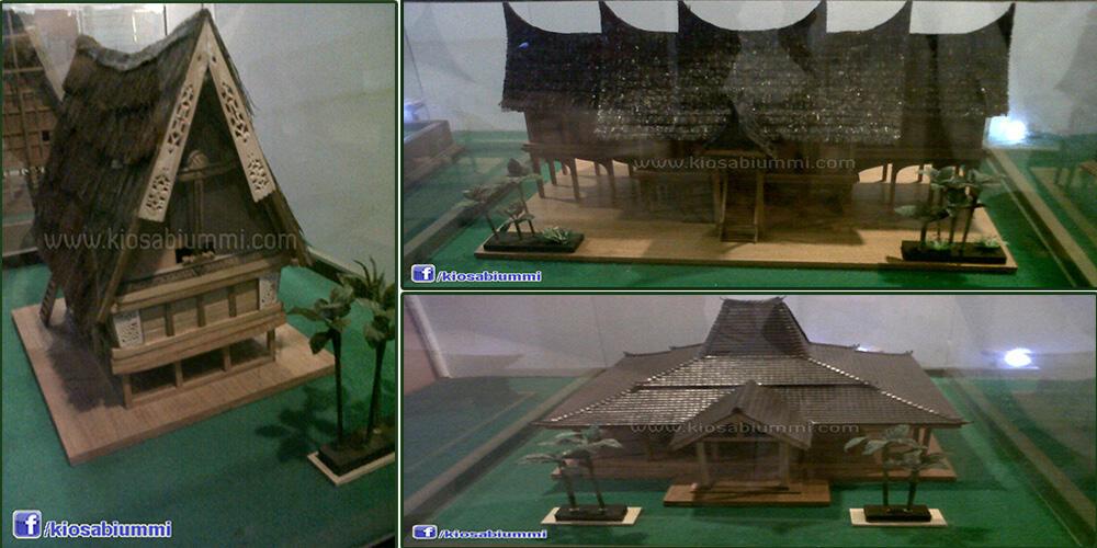 cari miniatur rumah adat tanah air kaskus