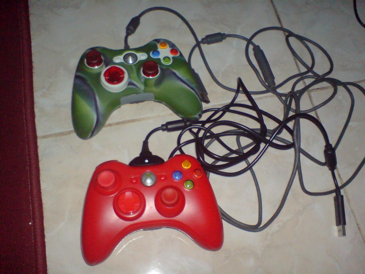 jual stik wireles,adaptor,kaset,hdd xbox palembang
