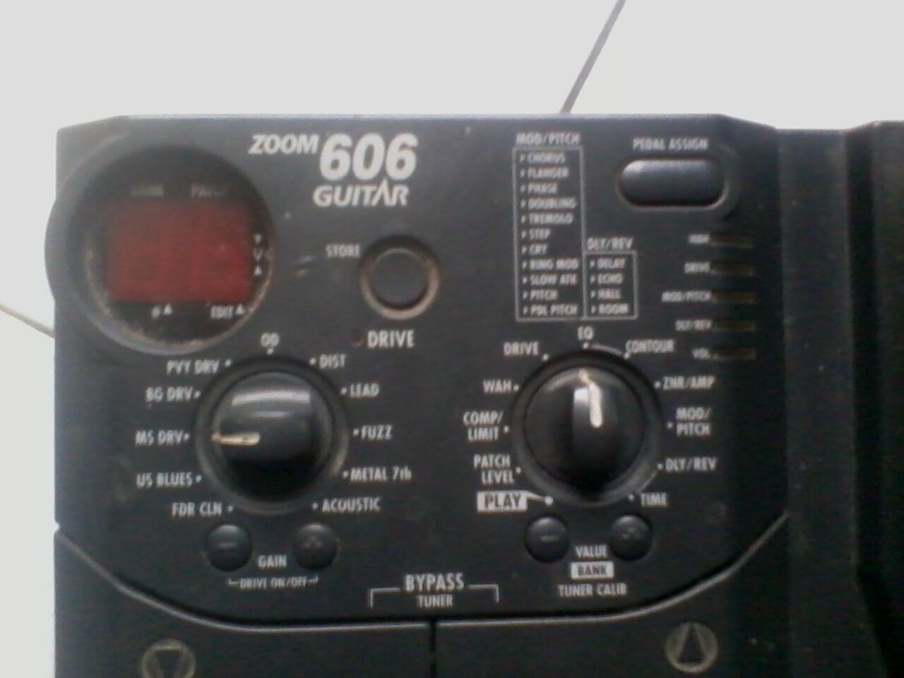 ### DI JUAL EFEK GUITAR DIGITAL ZOOM 606 ###