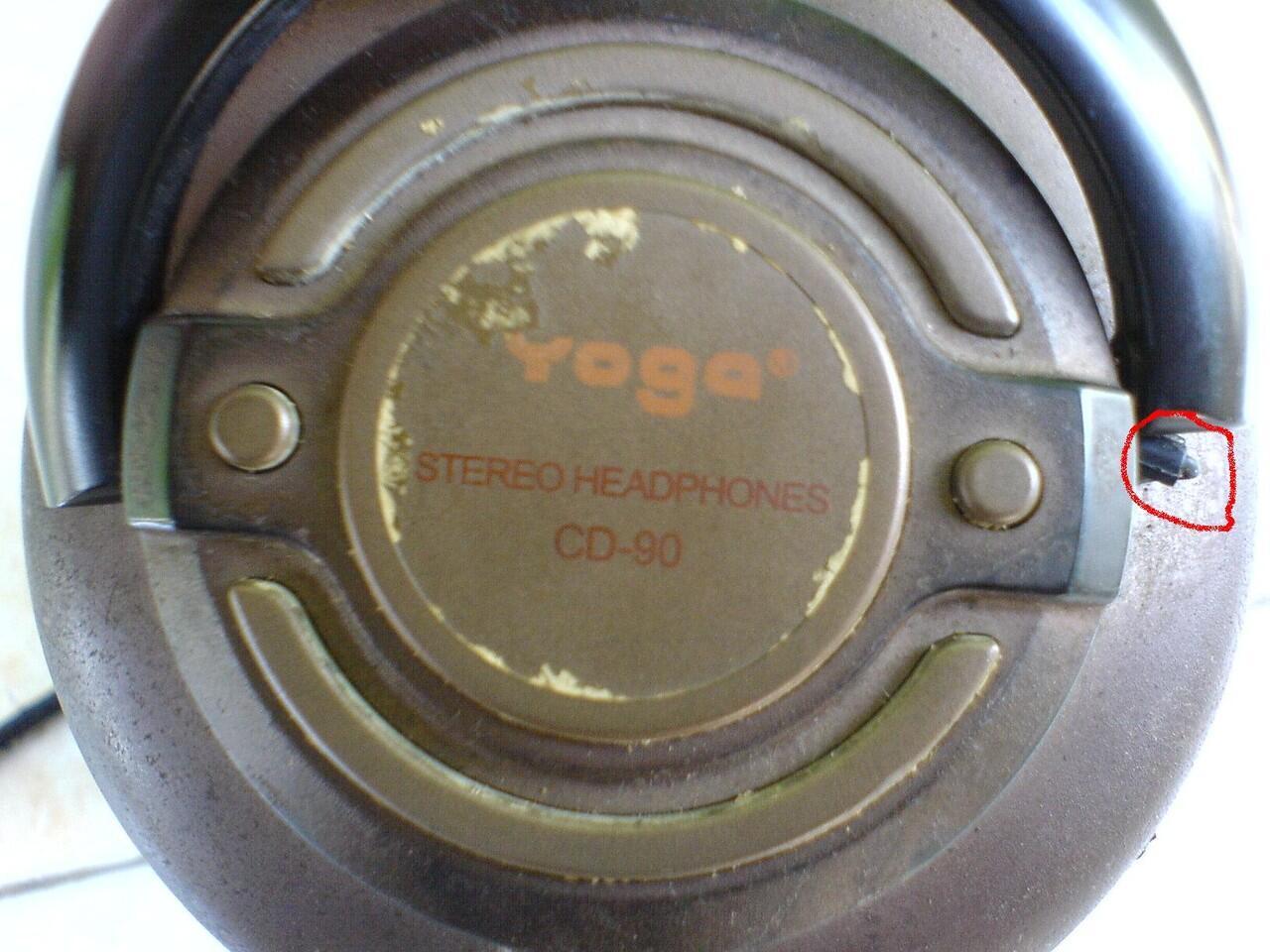 headphones recorder hi-fi YOGA cd-90