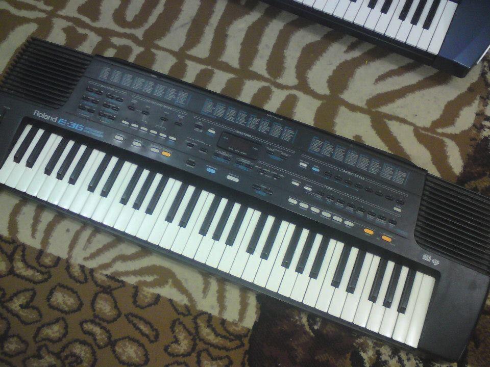 Keyboard Roland E 36, E 68, E 86 ...murah