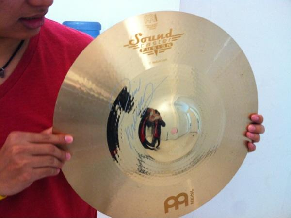 Jual cymbal Meinl soundcaster fusion,, 17'
