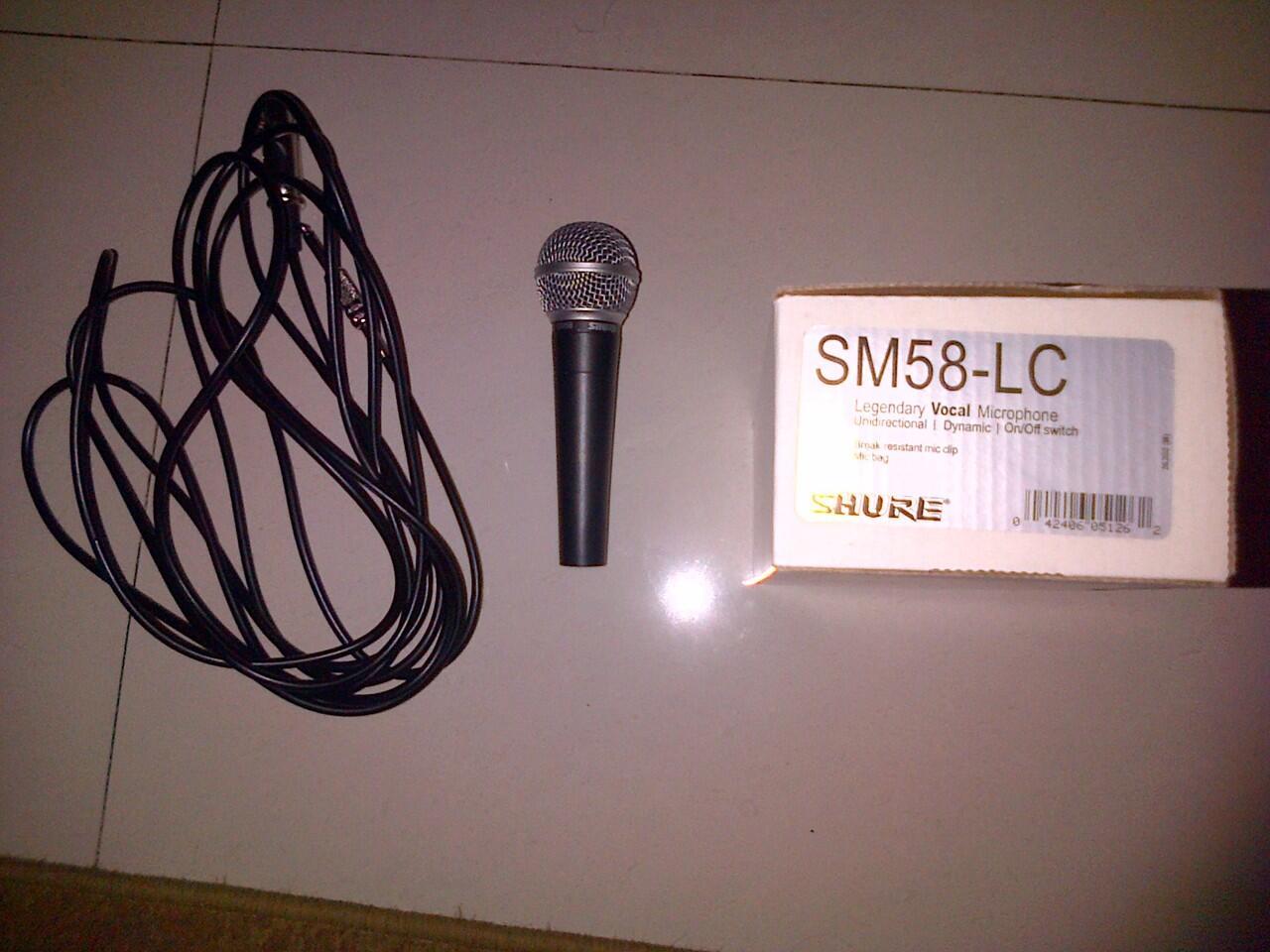 soundcard + mic