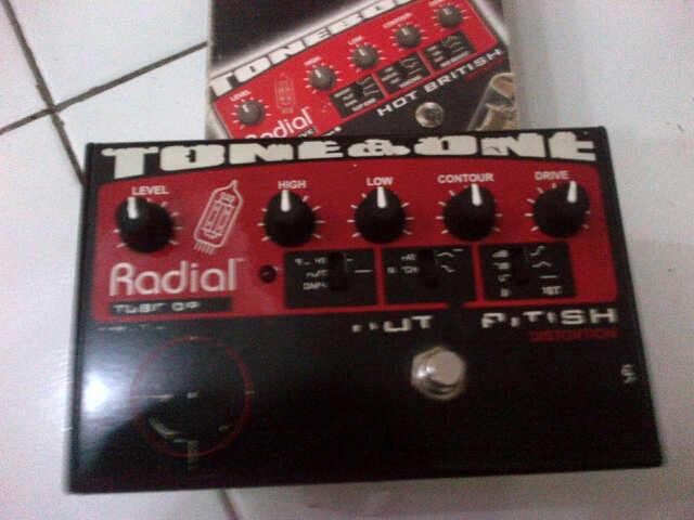 Efek Gitar || Radial Tonebone Hot British Tabung + Zeus Drive || BANDUNG