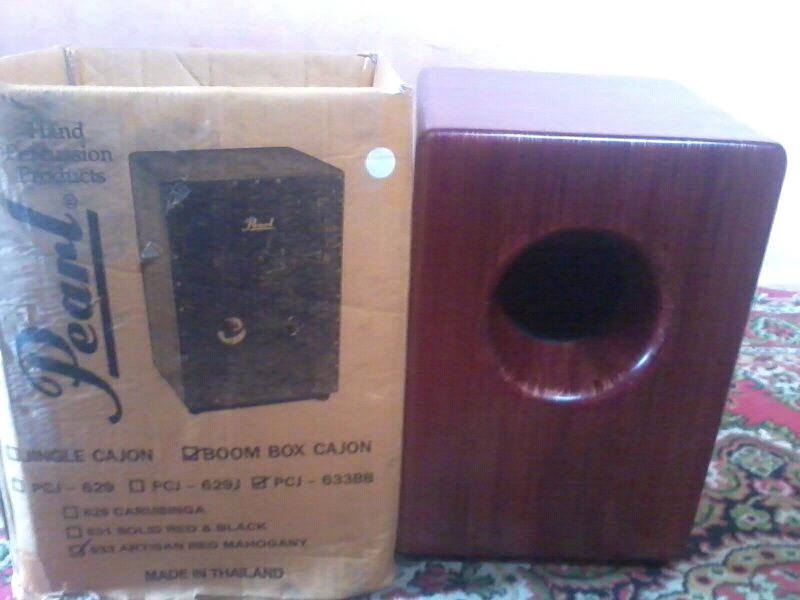 jual CAJON BOOM BOX PEARL cod bandung bisa nego
