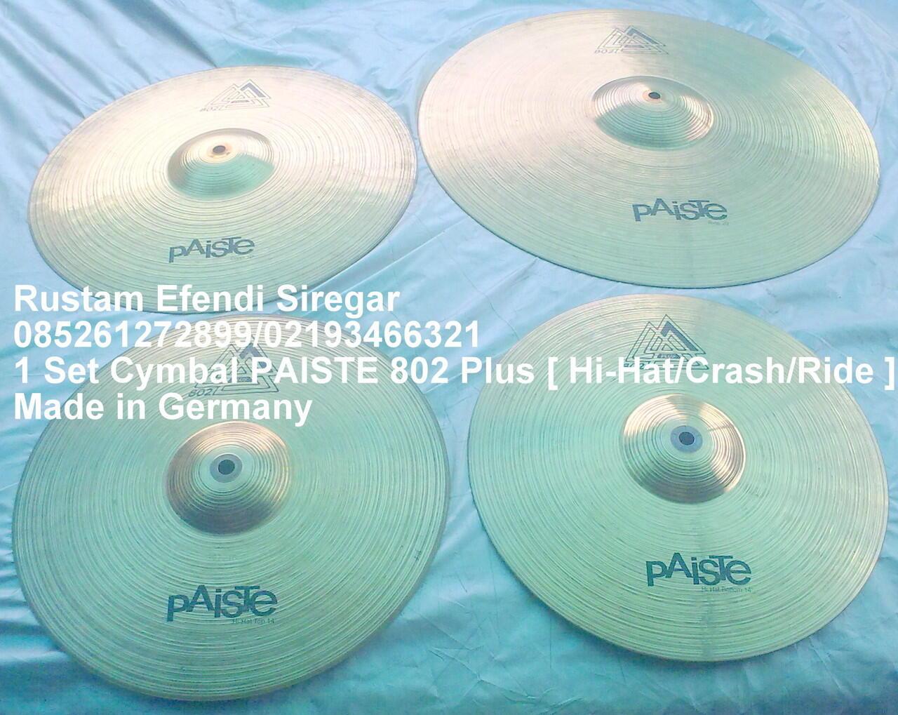 cymbal PAISTE 802 Plus