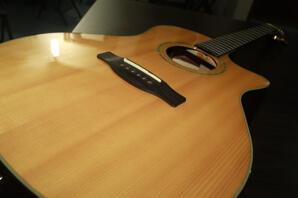 Fender semi / electric Grand Auditorium 45SCE Natural