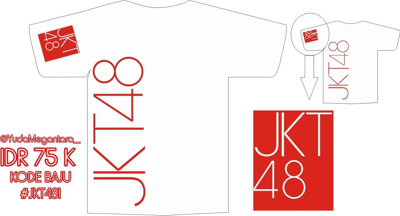 Desain t shirt jkt48 -  Ready Stock T Shirt Jkt48 Unofficial Fans Jkt48 Masuk