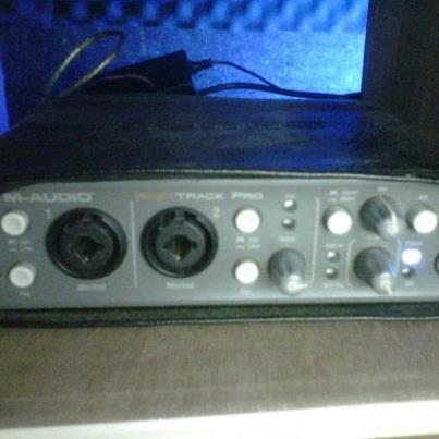 jual sound card murah merk m-audio fast track pro