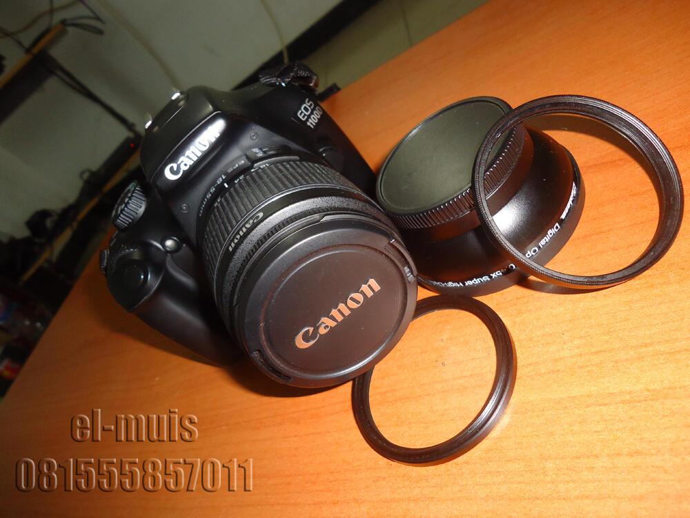 Canon EOS 1100D Kit Fullset Bangkalan - Surabaya