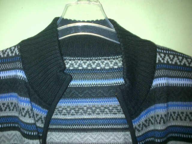 (WTS) jaket full zipper navajo / aztec. merk S.oliver (sisa export) MURAH!!
