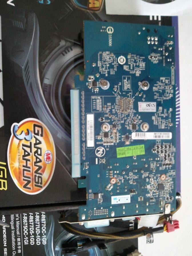 Gigabyte HD 6770 (Surabaya) JOSS !! garansi 3 thn!!