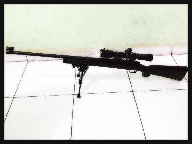 JUAL--- sniper M700 police lengkap dus dan accessories