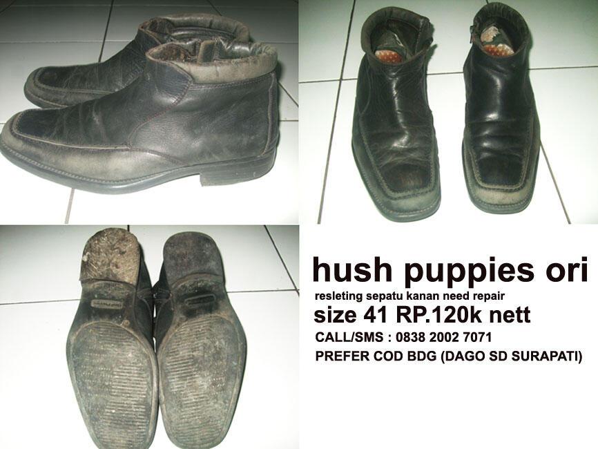 Terjual SEPATU HUSH PUPPIES ORI SZ-41 ZUPER MURAH...(BDG)  06820f9cef