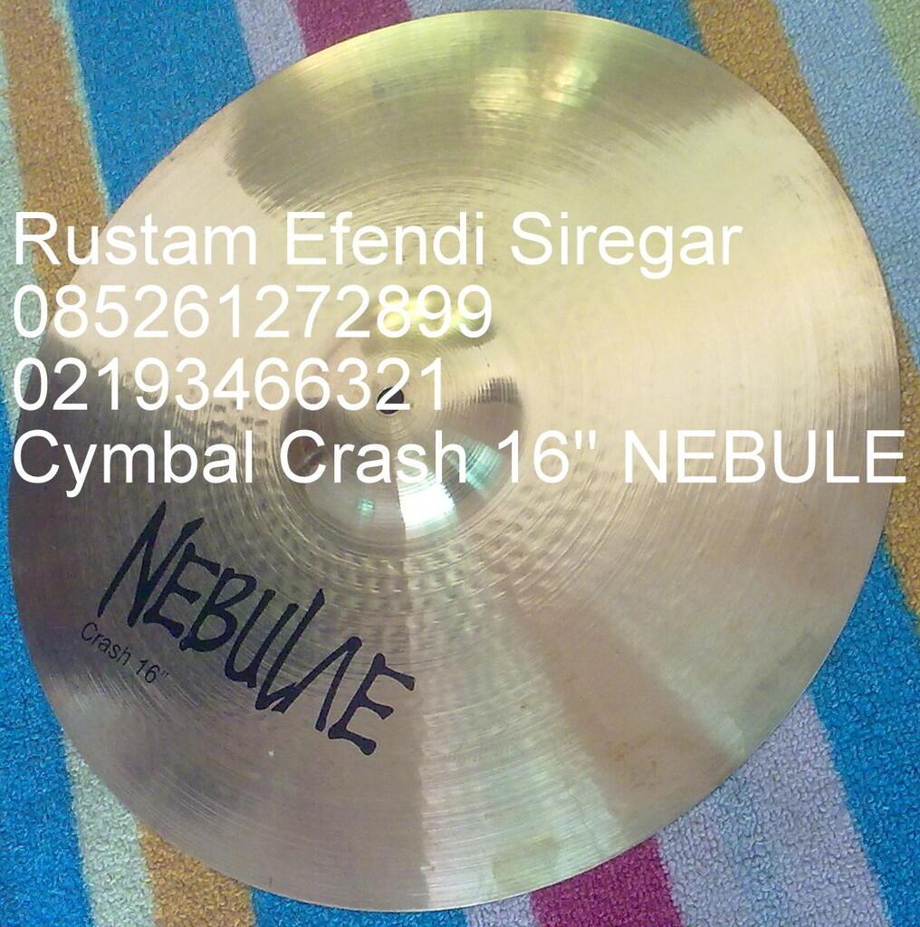 Crash cymbal 16'' NEBULE