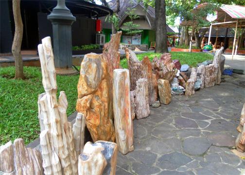 JUal Bongkahan Batu Pancawarna Fosil warna Angkik