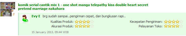 Komik cabutan mulus eks kolpri murah 4000 an aja, borong byk harga mkn digoyang :)