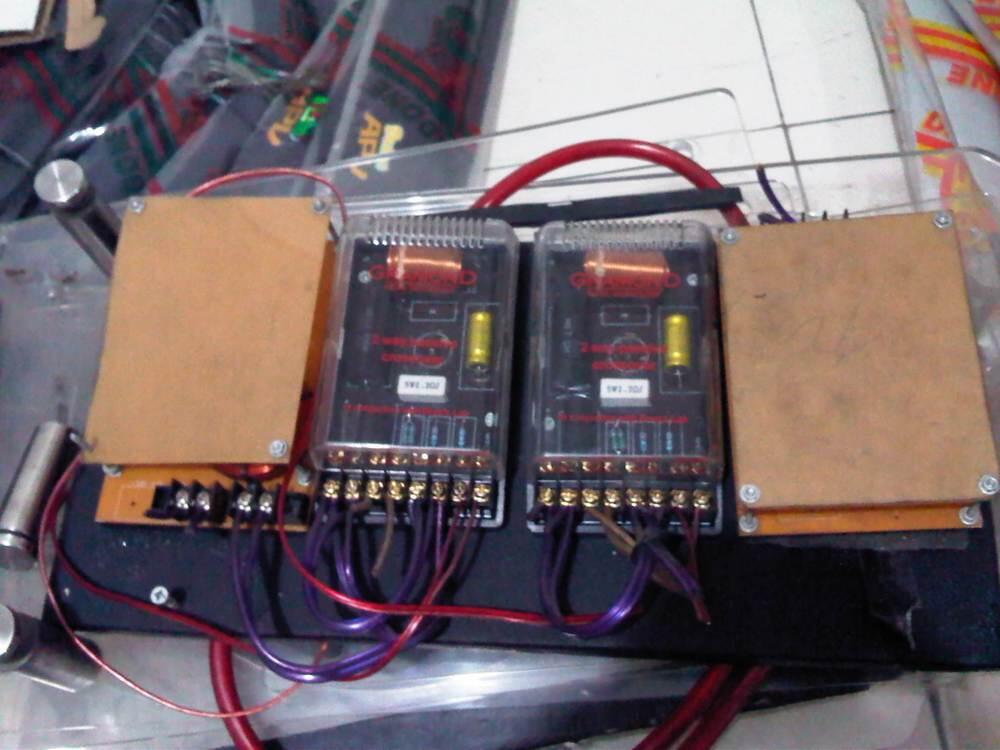 Sub Agako, 3 Way system, Coaxial Steg, Capbank PCA