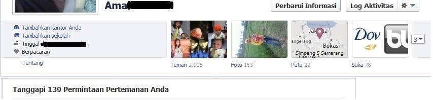 [BP] 3 akun facebook ini sama pulsa 3 situ