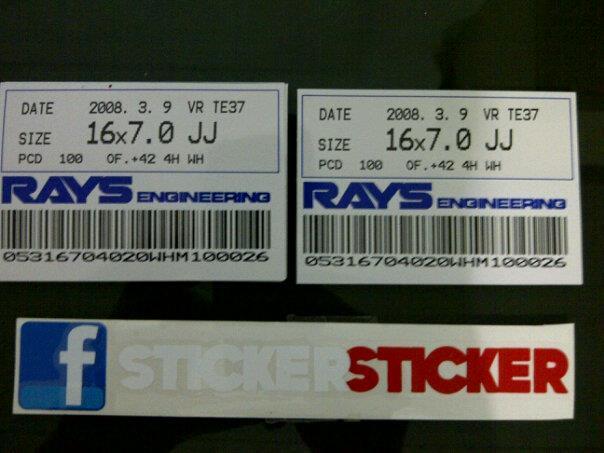 jdm•garage : sticker velg volkrays-CE28-advan-ssr-typeC-spoonsport-dll..