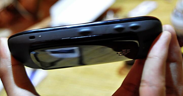 Blackberry Curve 8520 A.K.A Gemini Hitam Fullset