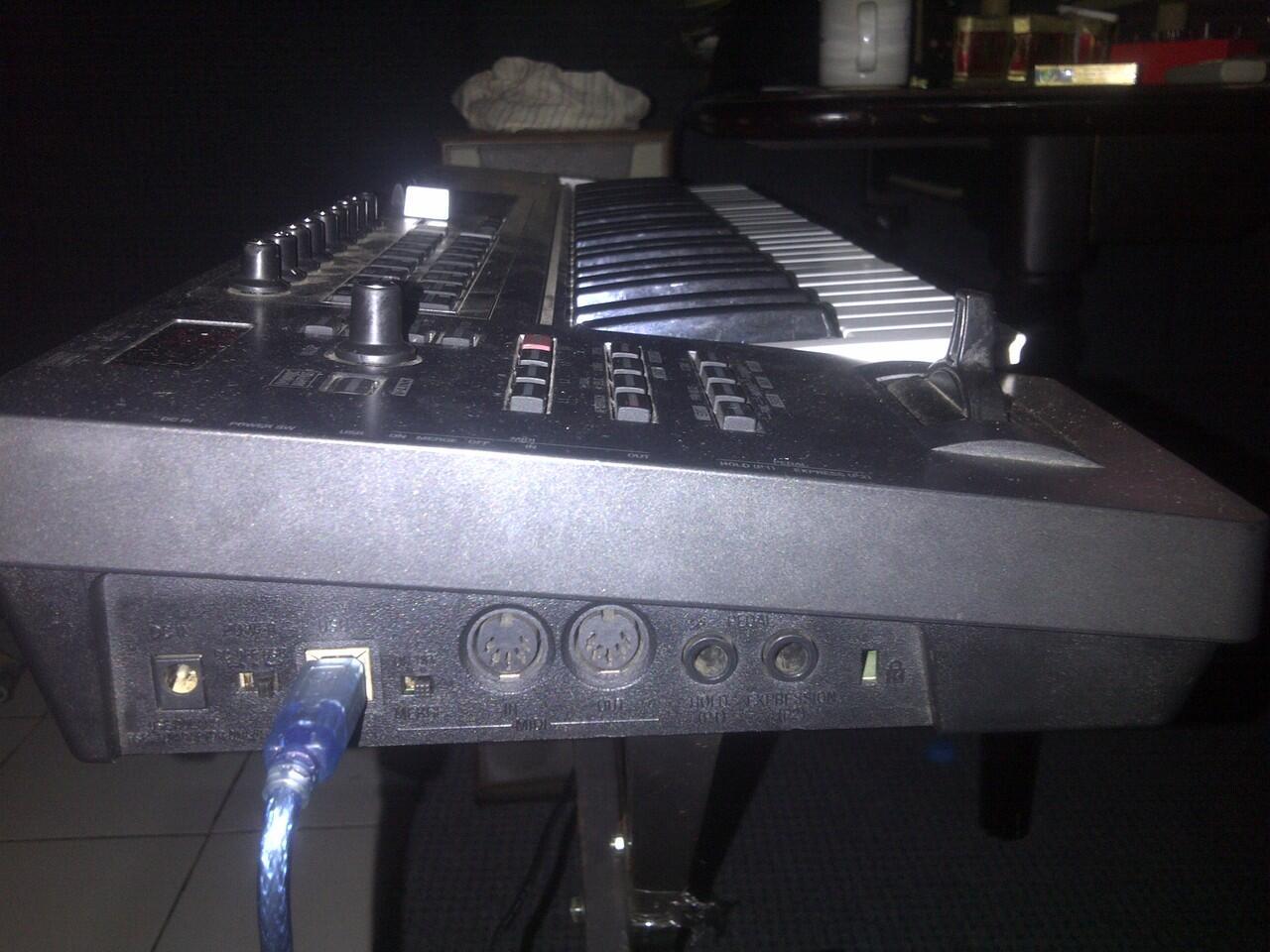 keyboard control roland edirol pcr 500