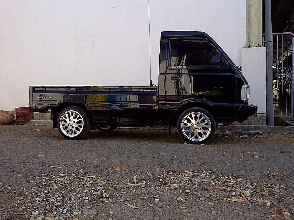 Kumpulan Gambar Modifikasi Mobil Carry Pick Up Ceper