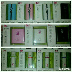 JUAL & GROSIR power bank LWF 5200mAh, 4400mAh, 2600mAh (license POWER ZEN)