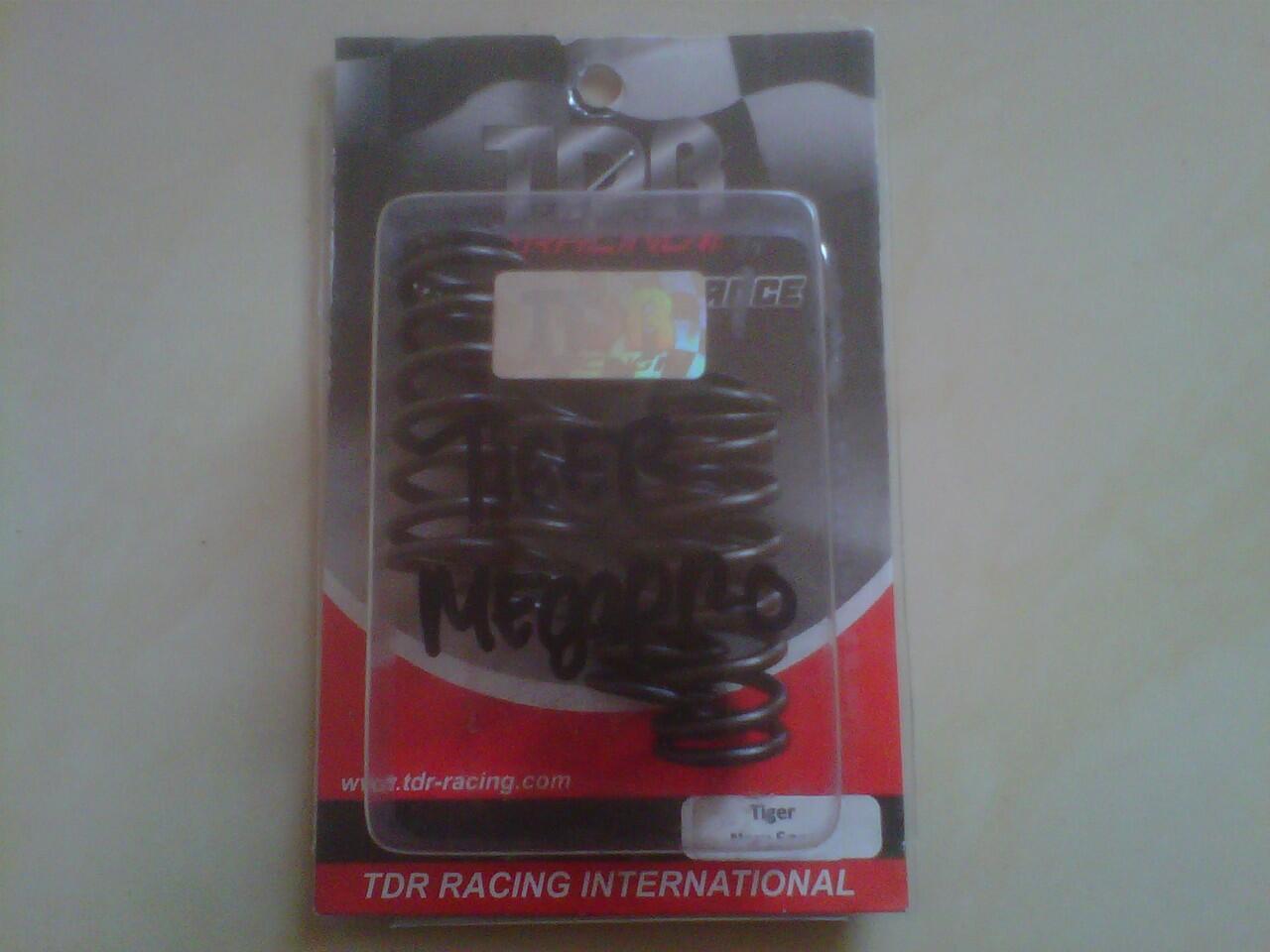 kampas kopling + per TDR tiger/megapro