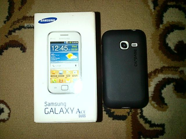 Samsung Galaxy Ace Duos White Mint!