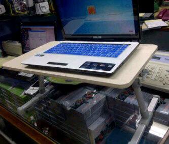 [VERDE] Meja Laptop Portable Dari Kayu (wooden) & Plastik TERMURAH GAN!!