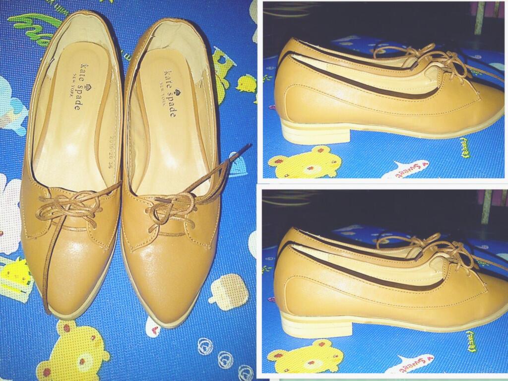 Flat Shoes cewek lucu belum pernah dipake djual karena kesempitan :)