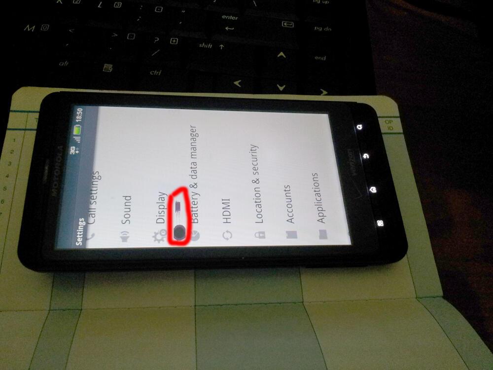 WTS Motorola Droid X apa adanya!!!