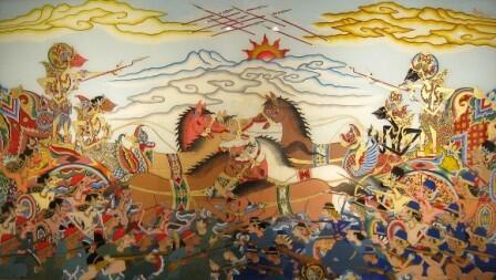 Bharatayudha, Perang 18 hari dengan korban 9.539.050 Jiwa