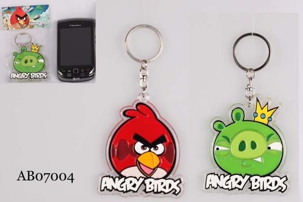 Boneka, tempat pensil, kipas, pouch, mainan, sticker, gantungan kunci ANGRY BIRD