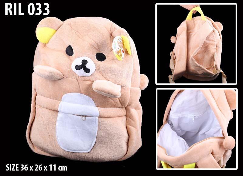 Boneka, Tas selempang, Jinjing, Backpack, Pouch, Dompet, pernak pernik RILAKKUMA
