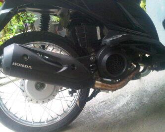 Knalpot Tsukigi Original Thailand utk Matic Honda, Yamaha , Suzuki !!