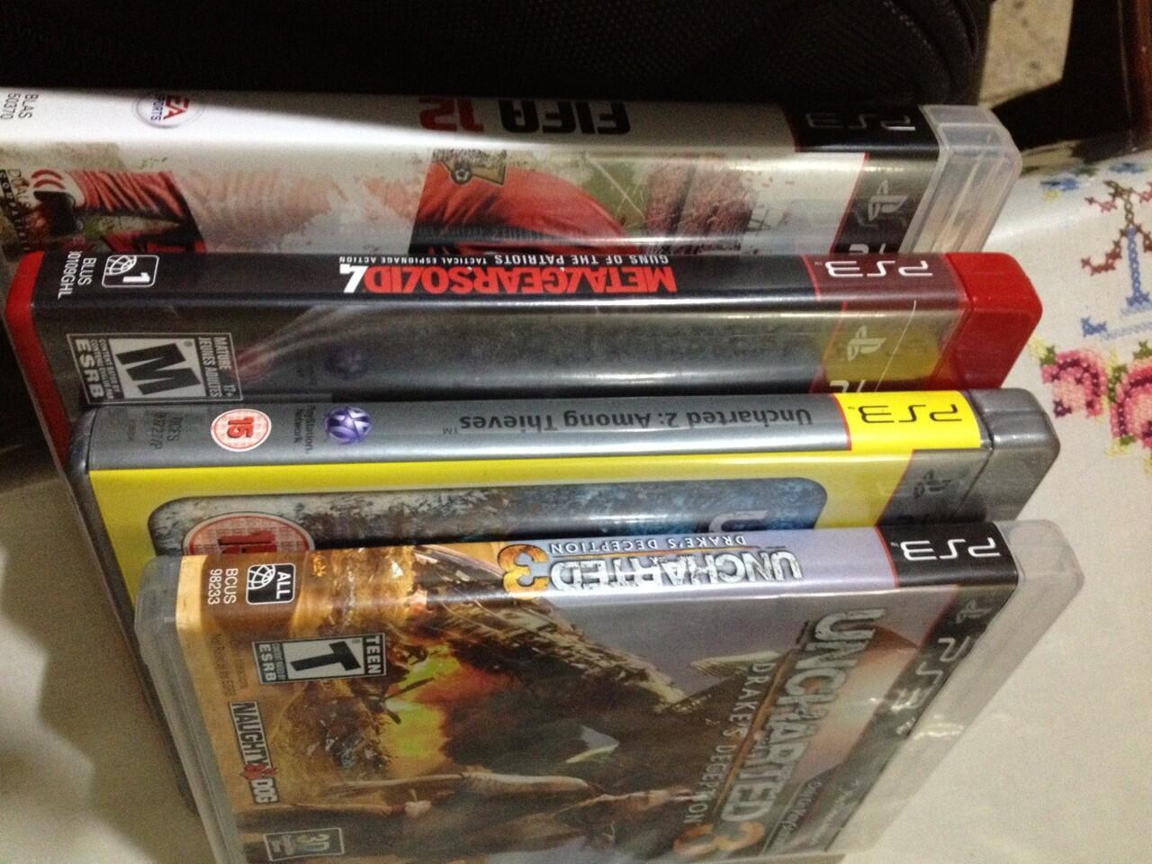 Sale PS3 BD Murah (Ass Creed 3, Fifa13, MG Rising)