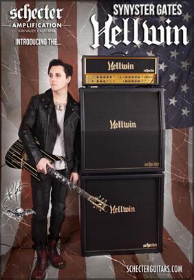 Amplifier Gitar Tabung Schecter HELLWIN USA
