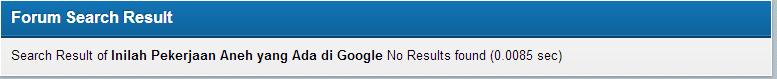Inilah Pekerjaan Aneh yang Ada di Google.inc . masuk gan !!