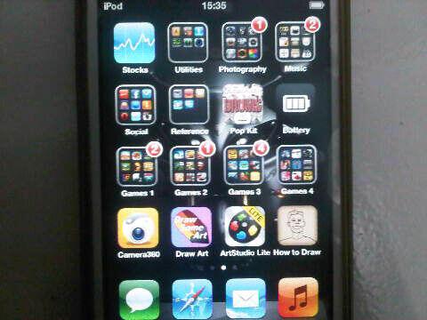 WTS : Ipod Touch Gen. 4 8GB