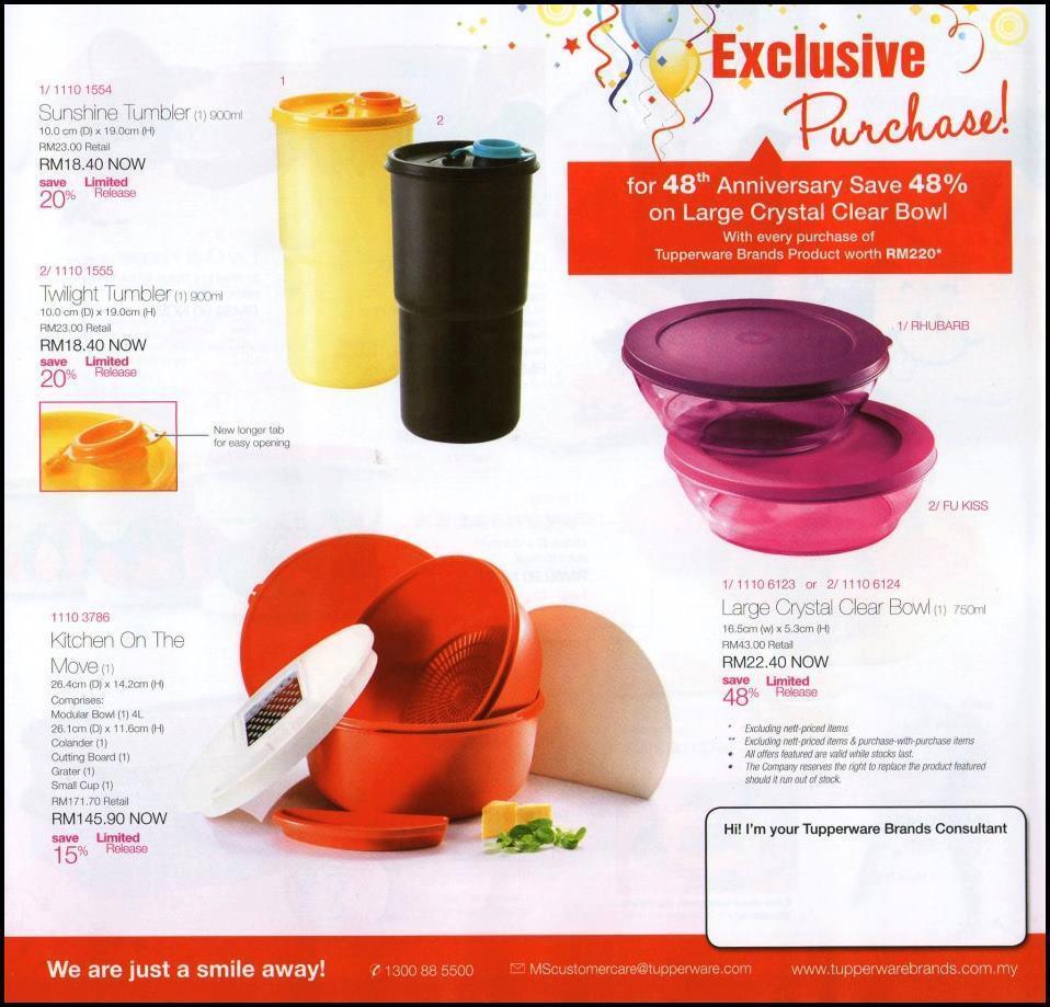 Jual tupperware brands malaysia