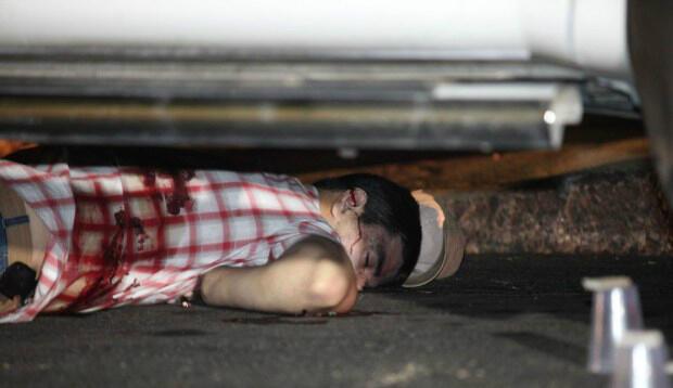Businessman Shot in Street-Mexico